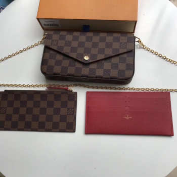 Louis Vuitton Pochette Felicie Damier Bag N63032