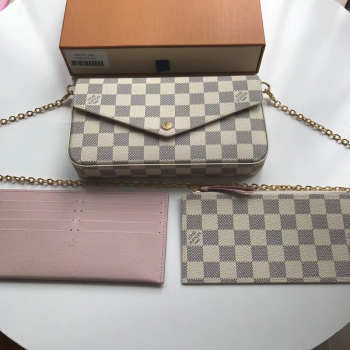 Louis Vuitton Pochette Felicie Damier Bag N63106