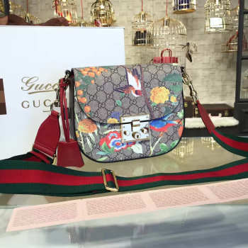 Gucci Padlock tian shoulder bag