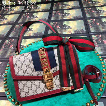 Gucci Sylvie And Dionysus red 421882