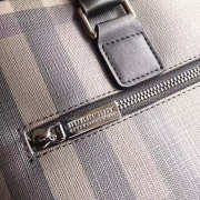 burberry Large Briefcase from London Check Fabric - 3