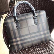 burberry Large Briefcase from London Check Fabric - 2