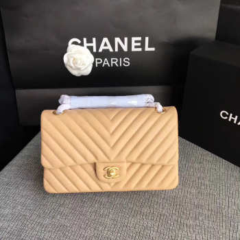 Chanel Calfskin Chevron Quilted 2.55 flap bag 1112