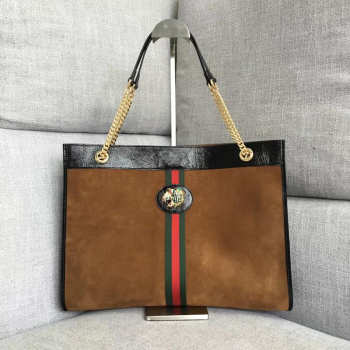 Gucci Large tote with tiger head