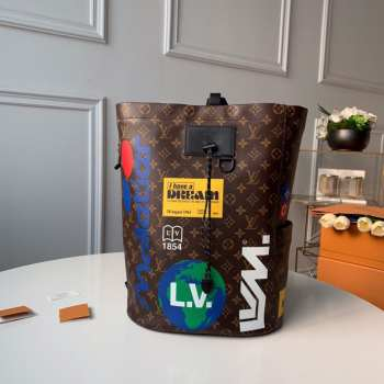 Louis Vuitton CHALK BACKPACK M44615