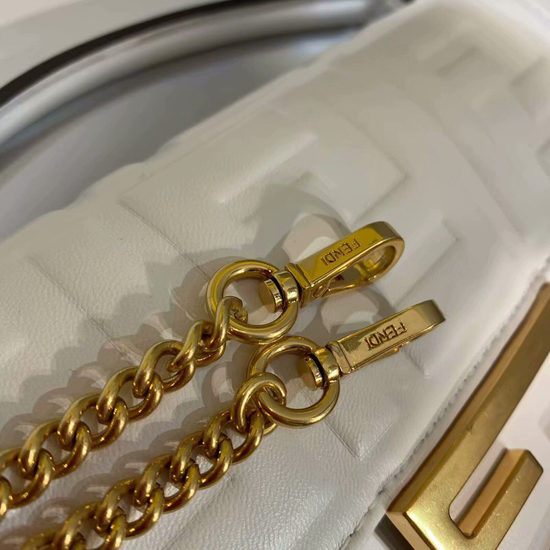 2019 Fendi bag BAGUETTE white - 3
