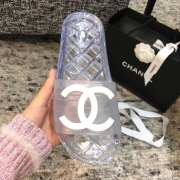 Chanel white slippers  - 4