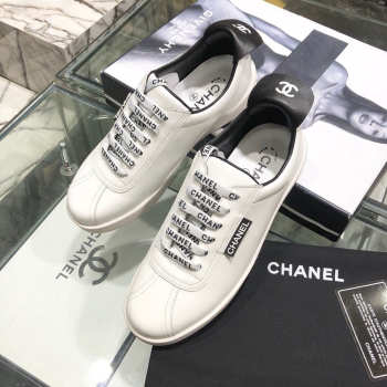 Chanel Sneakers White & Black