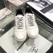 Chanel Sneakers White & Black - 2