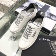 Chanel Sneakers White & Black - 5