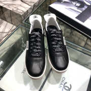 Chanel Sneakers White & Black - 4