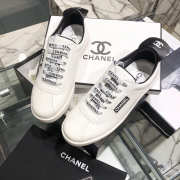 Chanel Sneakers White & Black - 6