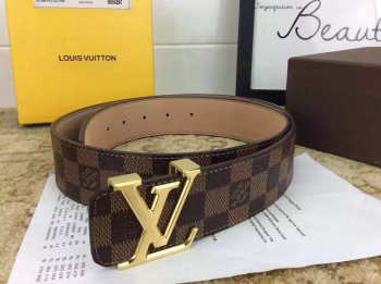 Louis Vuitton Belt in Brown