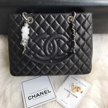 Chanel Tote Black Lambskin