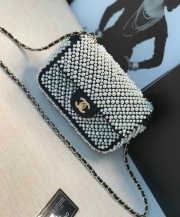 Chanel Flap bag with Imitation Pearls - 1