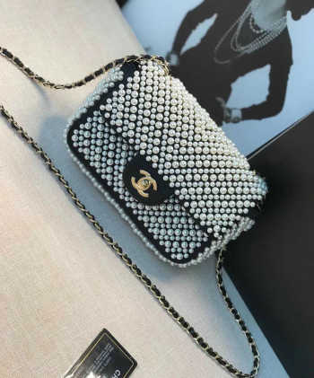 Chanel Flap bag with Imitation Pearls