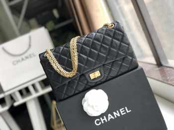 Chanel FLAP BAG 30cm with Gold Hardware