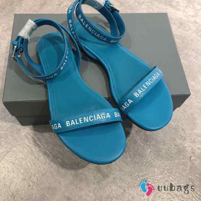 Balenciaga Slippers Blue 002