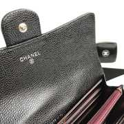 Chanel Wallet Caviar With Silver Hardware - 2