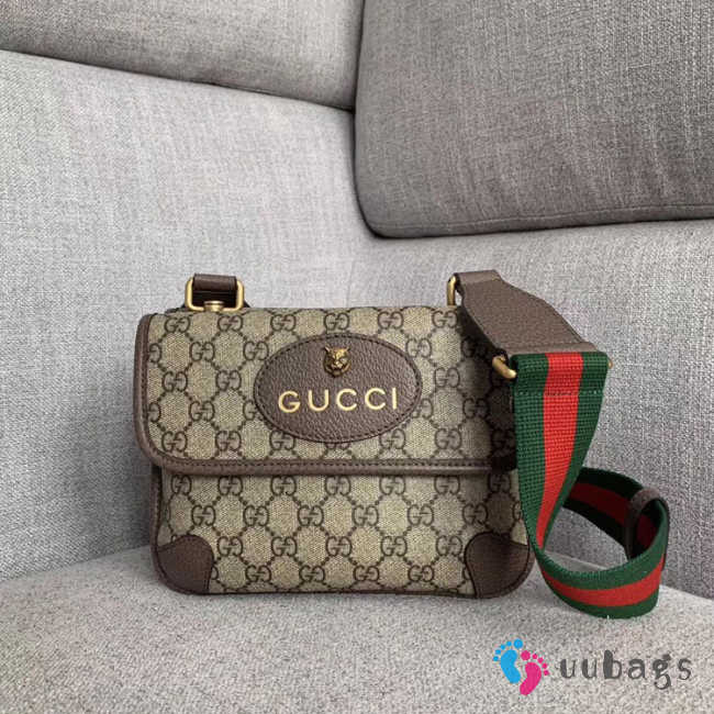 Gucci GG Supreme small messenger bag