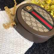Gucci Ophidia mini GG round shoulder bag  - 4