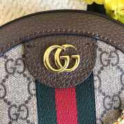 Gucci Ophidia mini GG round shoulder bag  - 2