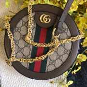 Gucci Ophidia mini GG round shoulder bag  - 3