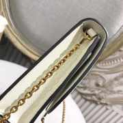 DIOR WHITE  SADDLE-CLUTCH VAN KALFSLEER - 6