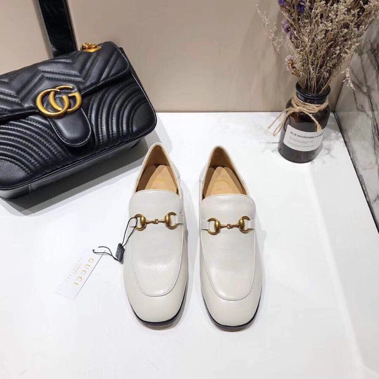 Gucci loafer with crystals - 3