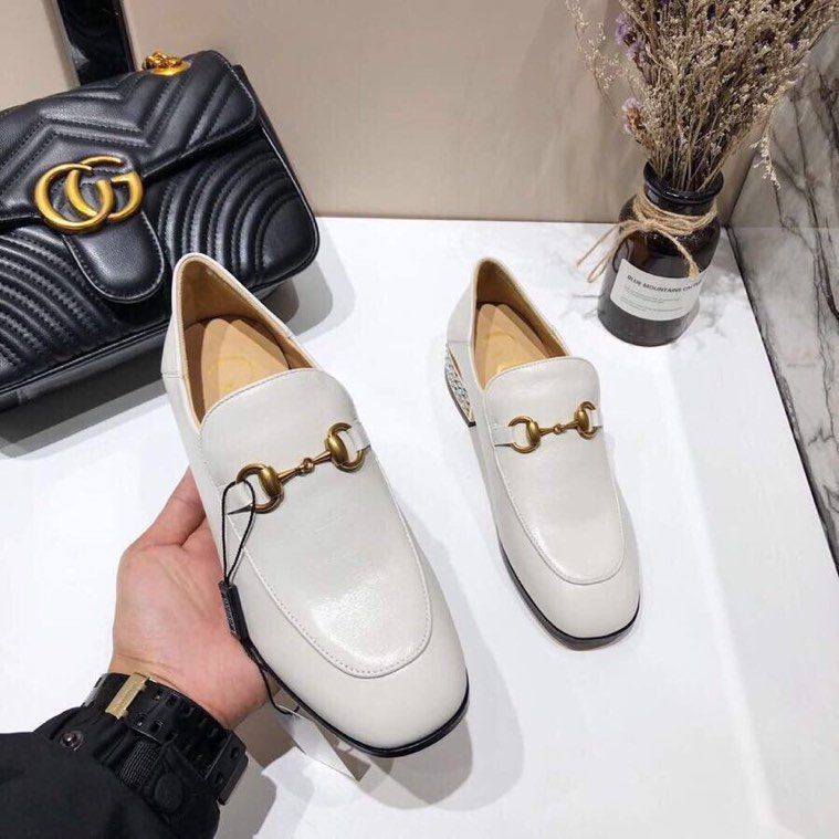 Gucci loafer with crystals - 2