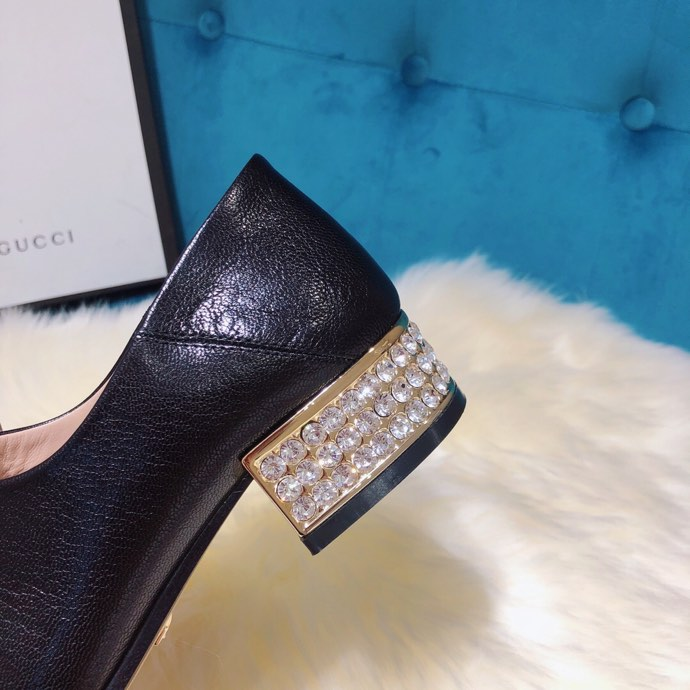 Gucci loafer with crystals Black - 5