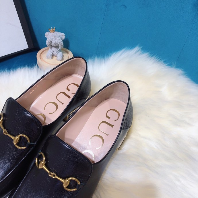 Gucci loafer with crystals Black - 4