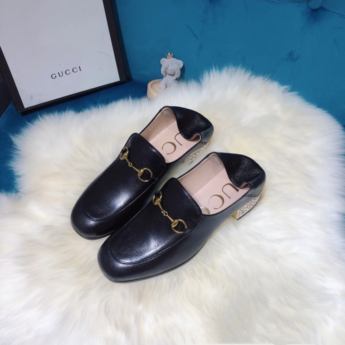 Gucci loafer with crystals Black - 3