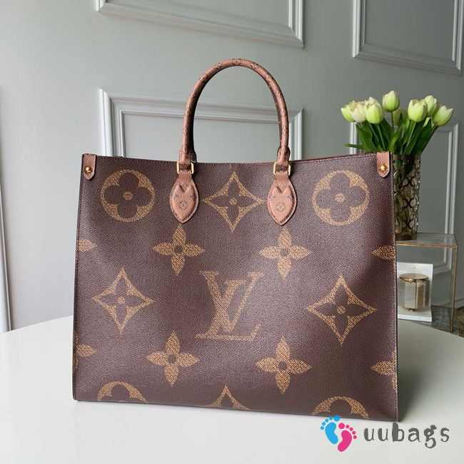 Louis Vuitton Monogram Giant Onthego Tote Bag