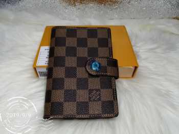 Louis Vuitton Agenda PM Damier Ebene Diary Cover