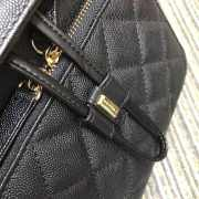 Chanel Fine Grain Embossed Calf Leather Backpack - 4