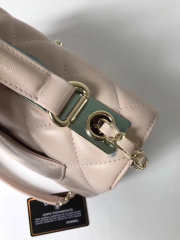 Chanel Trendy CC Flap Top Handle Beige Bag with Gold Hardware - 5