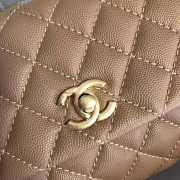 Chanel Flap Bag With Top Handle - 5