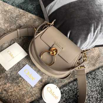 Chloe Tess Handbag Motty Grey