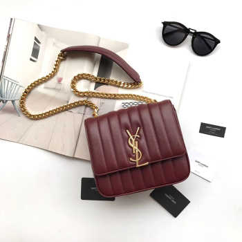 VICKY SHOULDER BAG ORIGINAL LEATHER MAROON