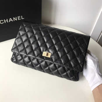 Chanel Palm print calfskin clutch 002