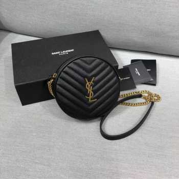 YSL Round Shoulder Bag