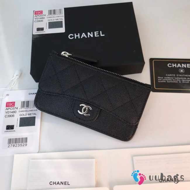 Chanel card holder wallet