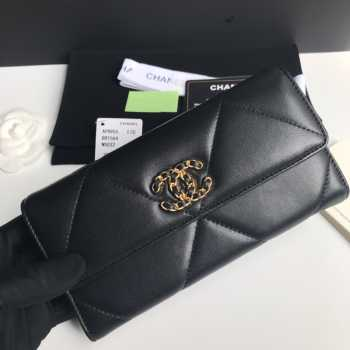 Chanel Wallet Gold Gold Hardware