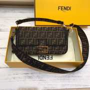 Fendi Baguette Black Medium  - 1