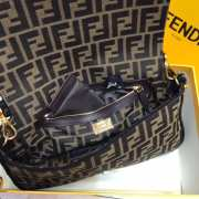 Fendi Baguette Black Medium  - 6