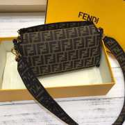 Fendi Baguette Black Medium  - 5