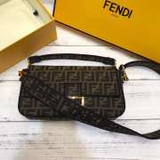 Fendi Baguette Black Medium  - 2