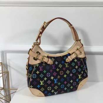 Louis Vuitton Monogram Multicolore Black Handbag