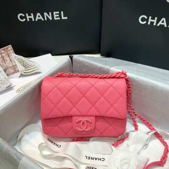 Chanel flap bag 17cm